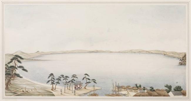 川原慶賀の彼杵の絵