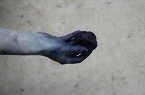 Indigo:Shairing blue